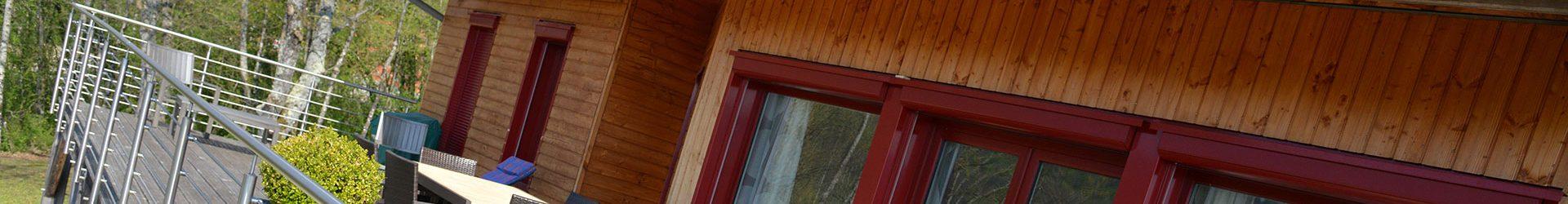 pohto d'une construction en bois réalisé par les charpentiers montbardois