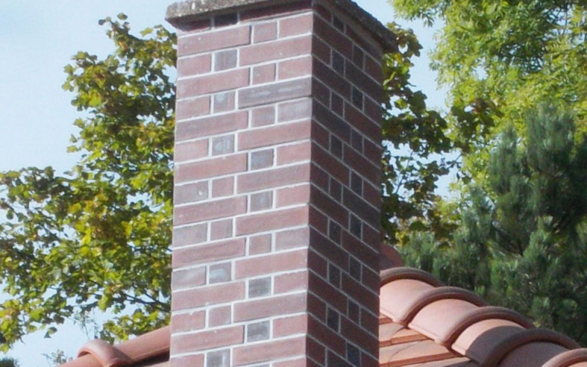 réfection d'une cheminée par les Charpentiers montbardois à Montbard
