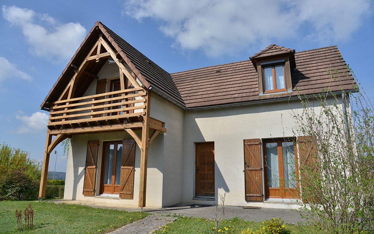 construction bois réalisée par les Charpentiers montbardois à Montbard