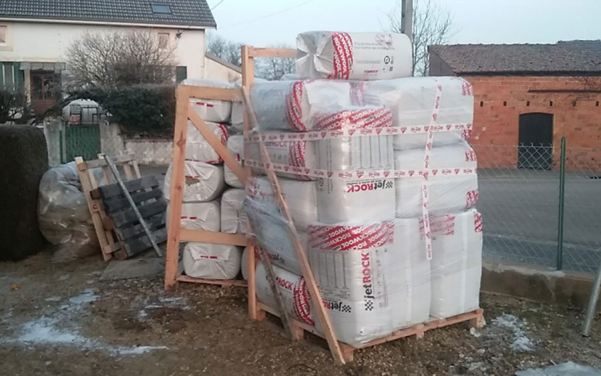 matériaux pour isolation de combles par les Charpentiers montbardois à Montbard
